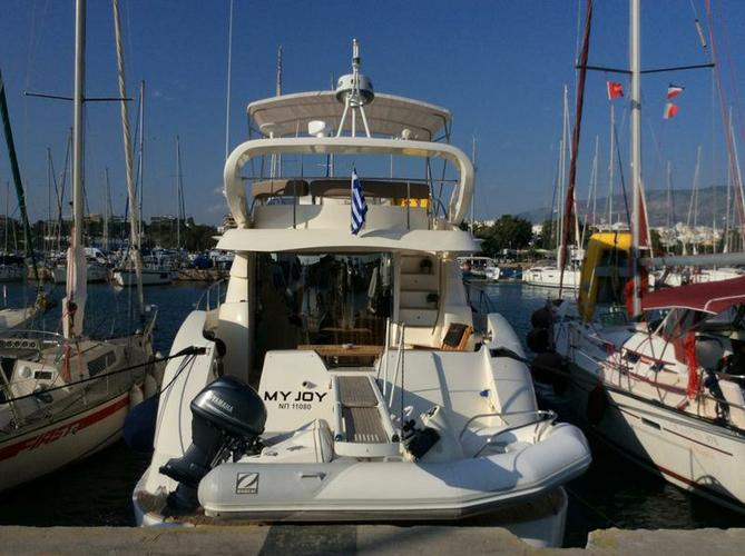 Experience Saronic Gulf on board this amazing Aicon Yachts