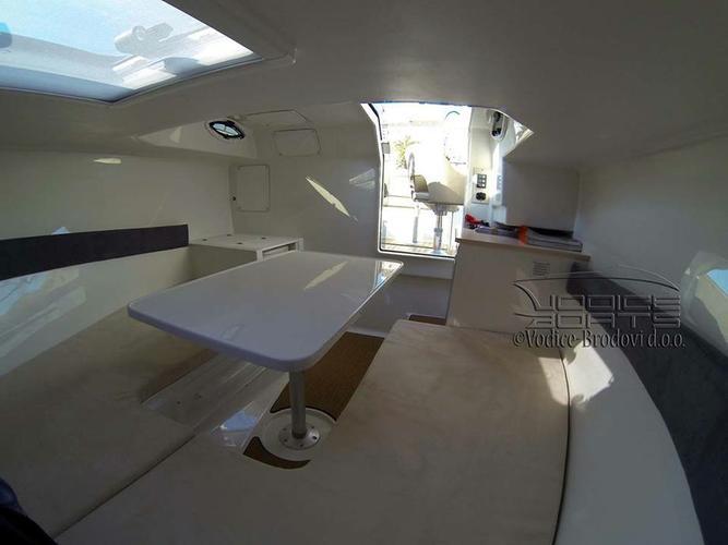 Discover Istra surroundings on this Atlantic Marine Sun Cruiser 655 Atlantic Marine boat