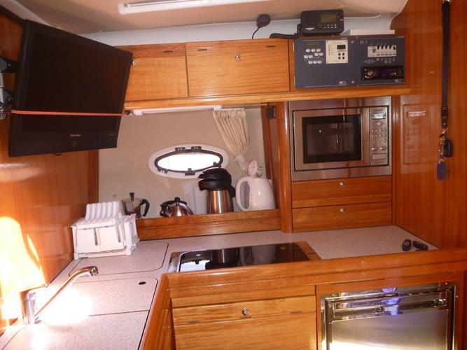 Discover Šibenik region surroundings on this BMB 37 Sport Bavaria Yachtbau boat