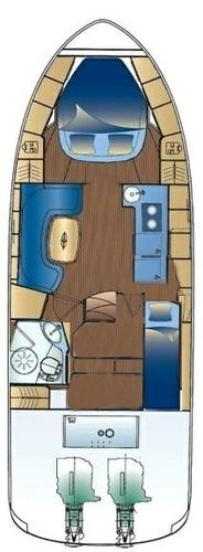 Boat for rent ELAN MOTOR YACHTS d.o.o. 38.0 feet in Marina Zenta, Split, Croatia
