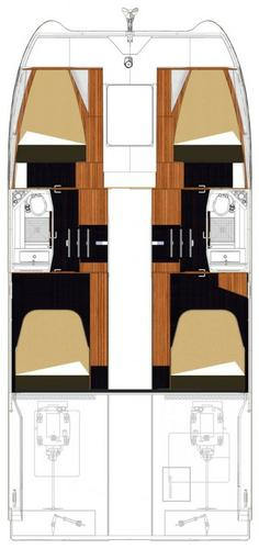 Boat for rent Fountaine Pajot 36.0 feet in Marina Trogir - SCT, Croatia