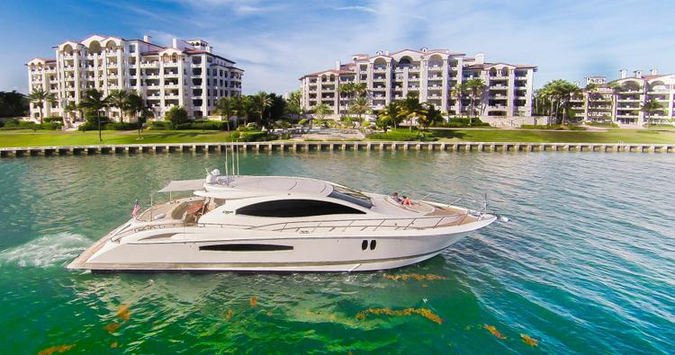 Boating is fun with a Express cruiser in Miami