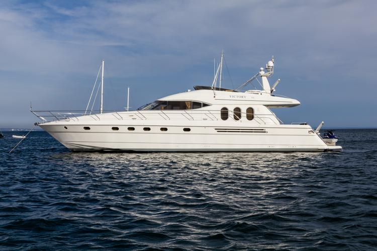 Discover Ibiza surroundings on this 20M Princess boat