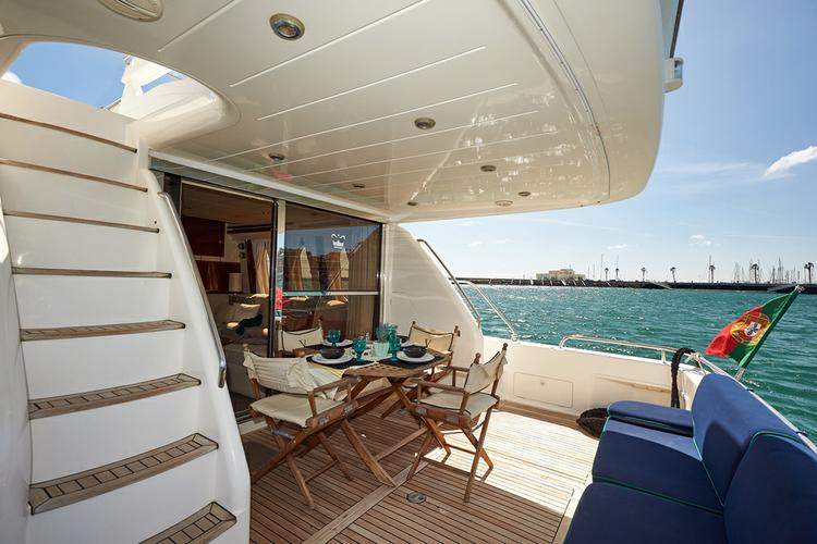 Mega yacht boat rental in Lisbon, Portugal