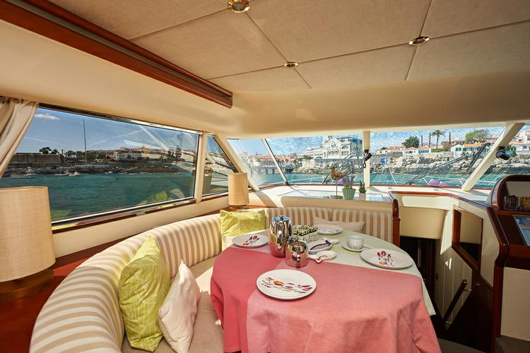 Boating is fun with a Mega yacht in Lisbon