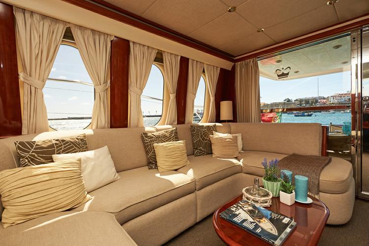 Mega yacht boat for rent in Lisbon