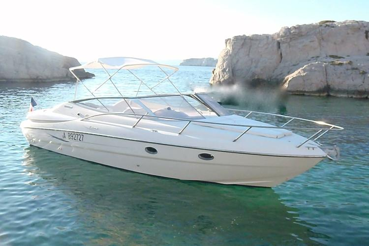 Explore Marseille in this Sessa Islamorada 32