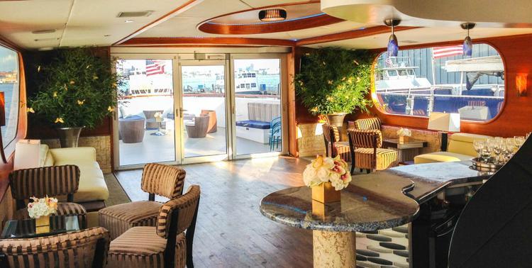 Mega yacht boat rental in New York Skyport Marina, NY