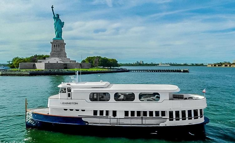 Up to 120 persons can enjoy a ride on this Mega yacht boat