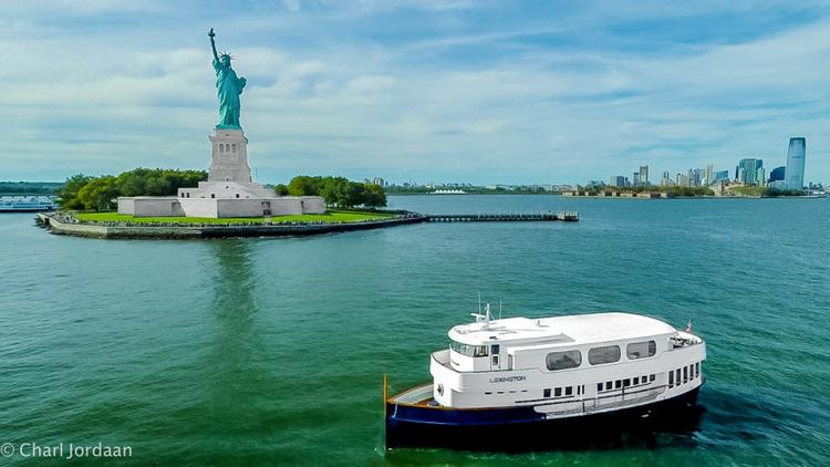 This 92.0' Scarano Boat Building cand take up to 120 passengers around New York