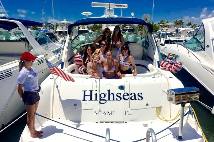 Sea Ray's 38.0 feet in Key Biscayne