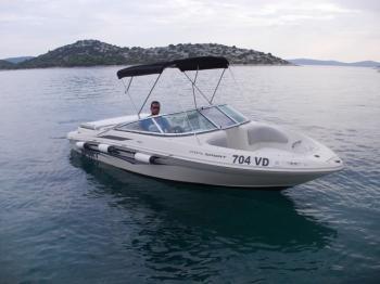 Boat for rent Sea Ray Boats 20.0 feet in Marina Tribunj,