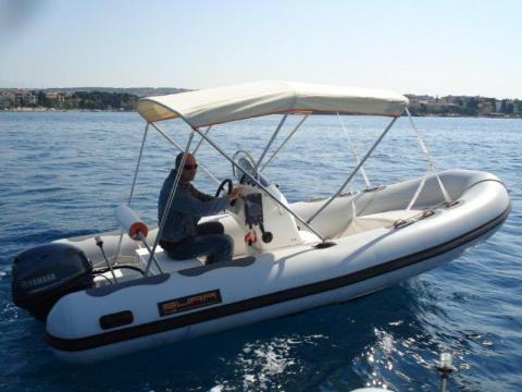 Bura boats's 15.0 feet in Zadar region