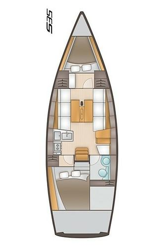 Discover Split region surroundings on this Salona 35 AD Boats boat
