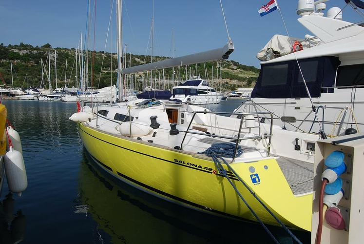 Discover Split region surroundings on this Salona 42 AD Boats boat