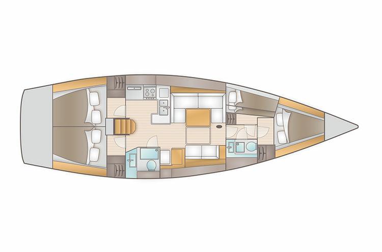 Boat for rent AD Boats 44.0 feet in Marina Kremik, Primosten, Croatia