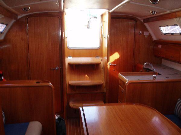 Discover Saronic Gulf surroundings on this Bavaria 32 Cruiser Bavaria Yachtbau boat