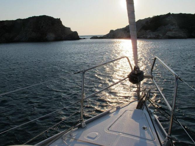 Discover Aegean surroundings on this Bavaria Cruiser 36 Bavaria Yachtbau boat