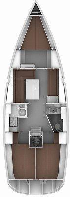 Discover Šibenik region surroundings on this Bavaria Cruiser 36 Bavaria Yachtbau boat