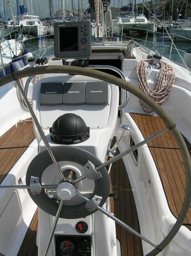 This 37.0' Bavaria Yachtbau cand take up to 8 passengers around Split region