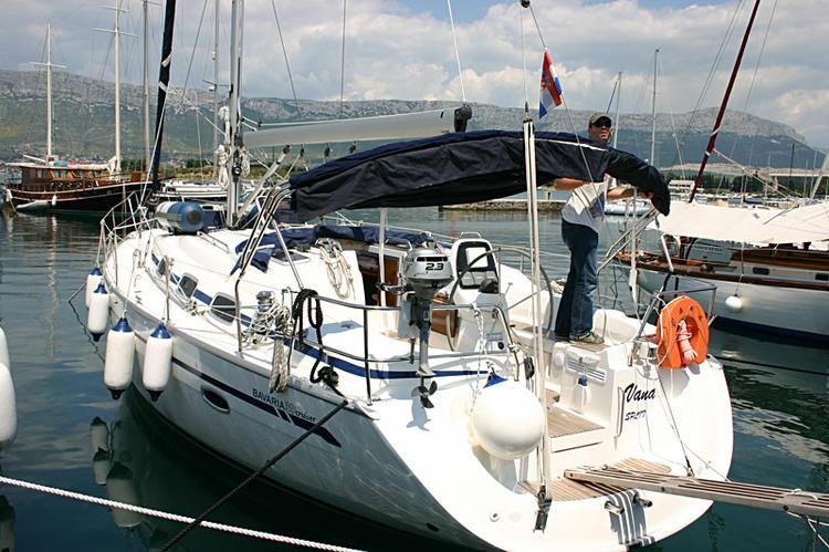 Discover Split region surroundings on this Bavaria 39 Cruiser Bavaria Yachtbau boat