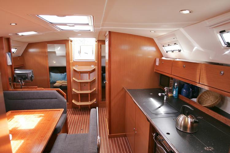 Discover Aegean surroundings on this Bavaria Cruiser 41 Bavaria Yachtbau boat