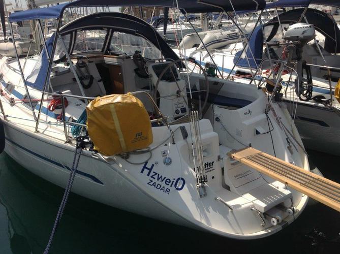 This 40.0' Bavaria Yachtbau cand take up to 6 passengers around Zadar region