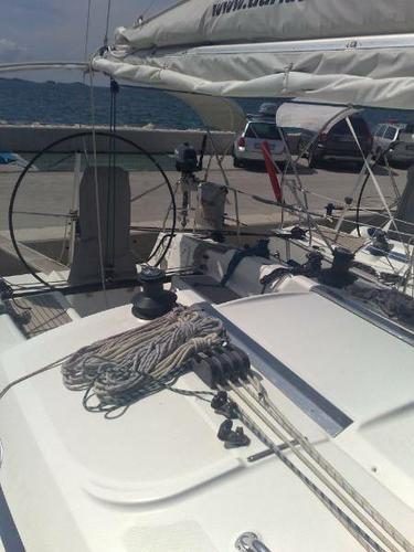 This 40.0' Bavaria Yachtbau cand take up to 8 passengers around Zadar region