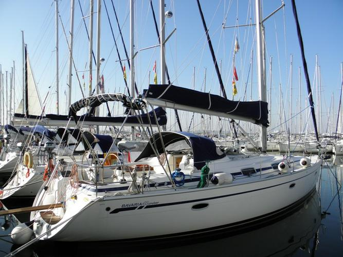 This 42.0' Bavaria Yachtbau cand take up to 7 passengers around Split region