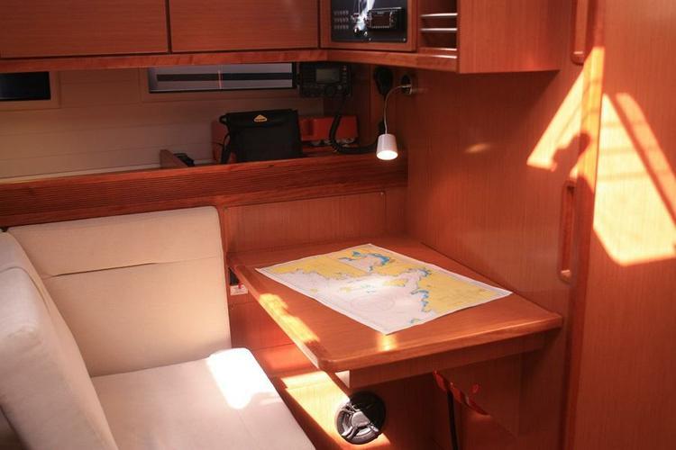 This 46.0' Bavaria Yachtbau cand take up to 10 passengers around Aegean