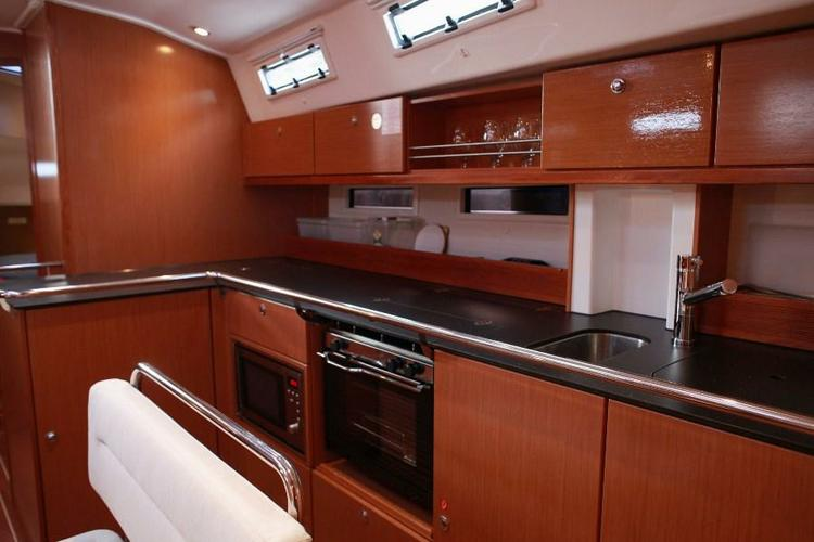 Discover Aegean surroundings on this Bavaria Cruiser 45 Bavaria Yachtbau boat