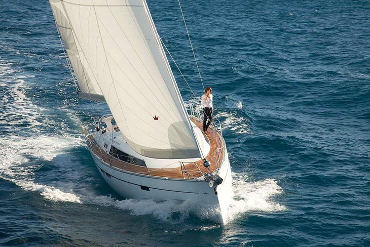 This 46.0' Bavaria Yachtbau cand take up to 9 passengers around Aegean