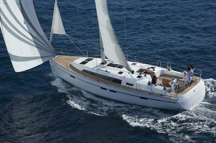 Sail Split region waters on a beautiful Bavaria Yachtbau
