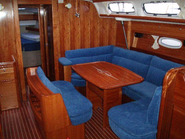 This 47.0' Bavaria Yachtbau cand take up to 8 passengers around Dodecanese