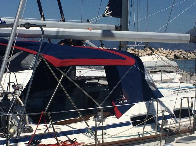 This 47.0' Bavaria Yachtbau cand take up to 10 passengers around Ionian Islands
