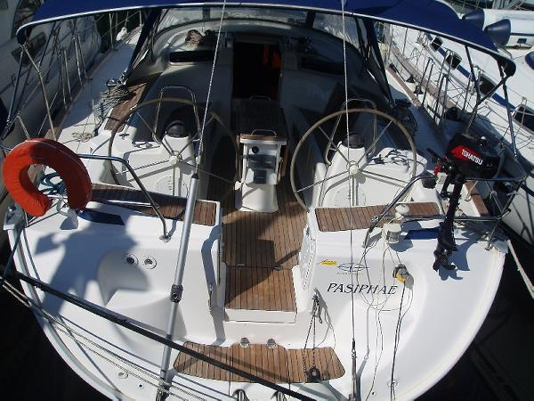 Sail Saronic Gulf waters on a beautiful Bavaria Yachtbau