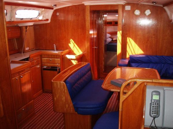 Discover Saronic Gulf surroundings on this Bavaria 46 Cruiser Bavaria Yachtbau boat