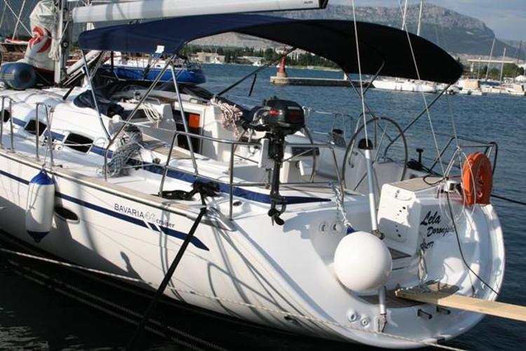This 47.0' Bavaria Yachtbau cand take up to 9 passengers around Split region