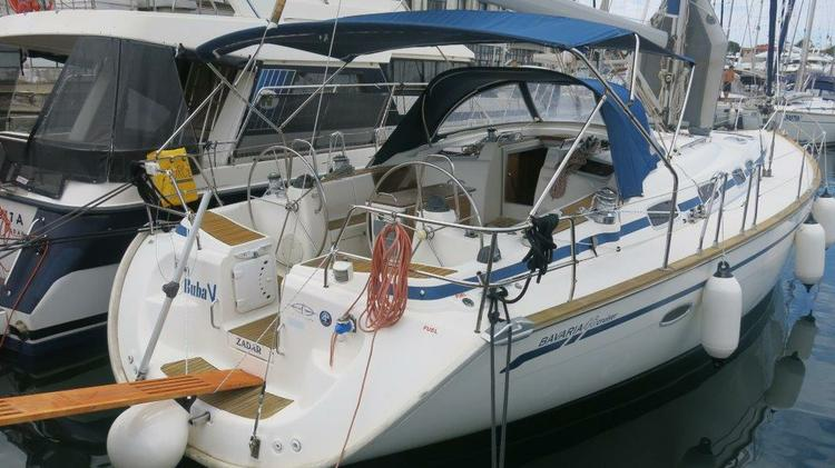 Boat for rent Bavaria Yachtbau 47.0 feet in Marina Tankerkomerc, Zadar,
