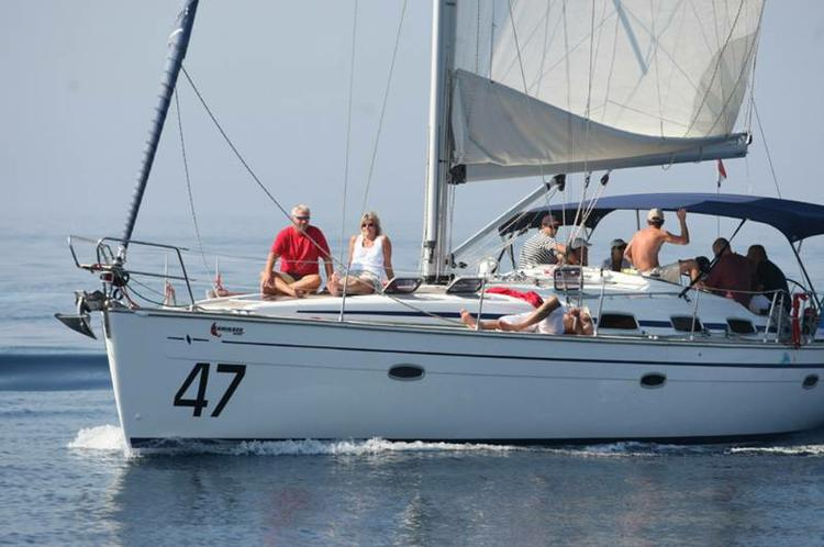 Discover Zadar region surroundings on this Bavaria 47 Cruiser Bavaria Yachtbau boat