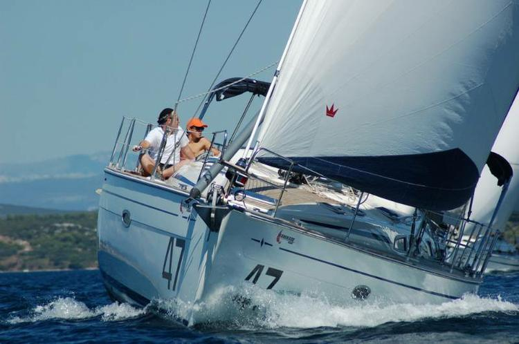This 47.0' Bavaria Yachtbau cand take up to 10 passengers around Zadar region