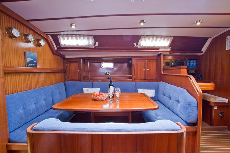 Discover Split region surroundings on this Bavaria 47 Bavaria Yachtbau boat