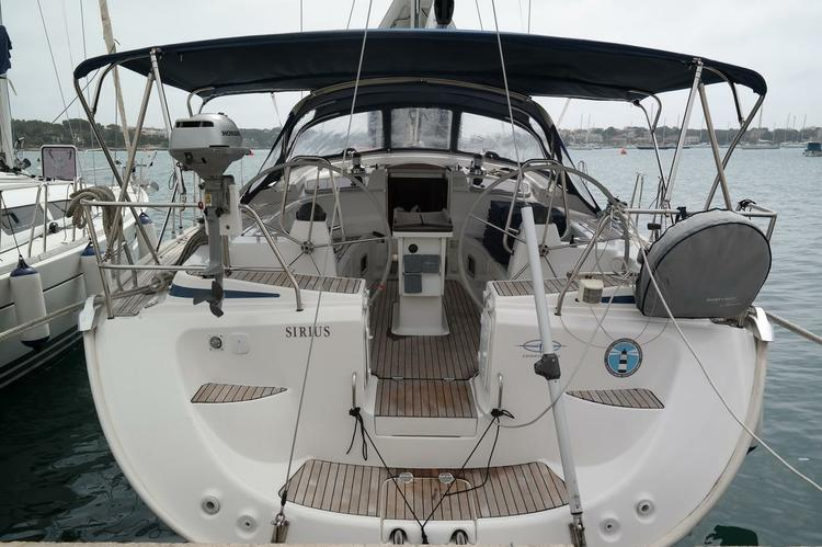 Discover Balearic Islands surroundings on this Bavaria 50 Cruiser Bavaria Yachtbau boat