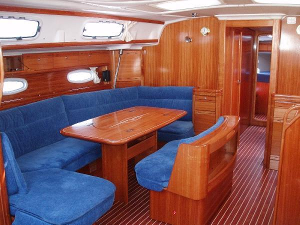 This 51.0' Bavaria Yachtbau cand take up to 10 passengers around Dodecanese