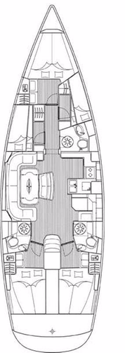 Discover Šibenik region surroundings on this Bavaria 50 Cruiser Bavaria Yachtbau boat