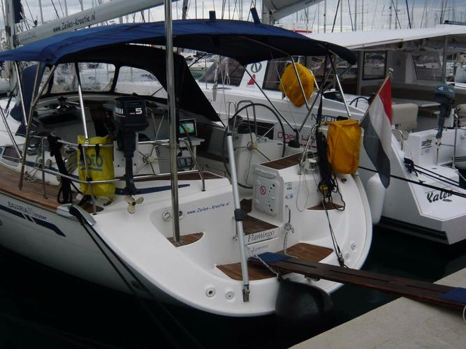 This 51.0' Bavaria Yachtbau cand take up to 11 passengers around Šibenik region