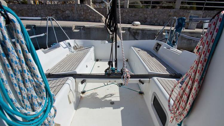 Beneteau boat for rent in Kvarner