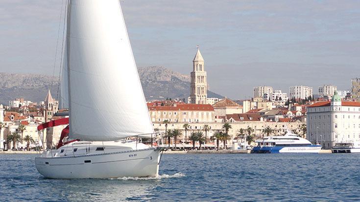 Bénéteau's 33.0 feet in Split region