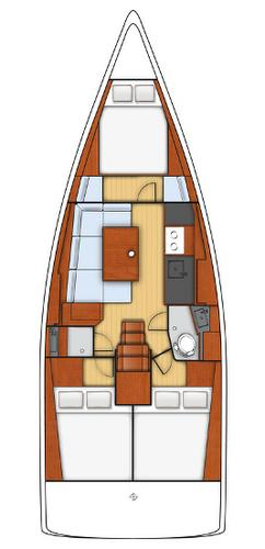 Boat for rent Bénéteau 37.0 feet in Lefkas - Marina Lefkas,