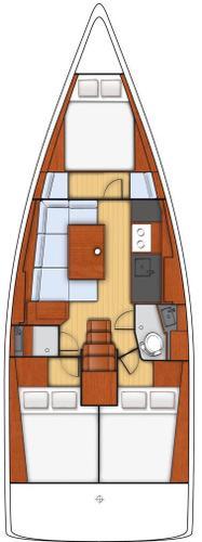 Boat for rent Bénéteau 37.0 feet in Marina Kastela, Kastela,